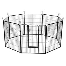"""Dog Pet Playpen Heavy Duty Metal Exercise Fence Hammigrid 8 Panel 31W*40H"""" Each"""