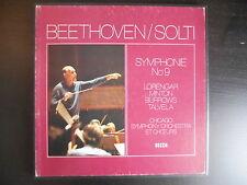 "Coffret 2 33 tours ""Beethoven - Symphonie n°9 - Chicago symphony orchestra"""