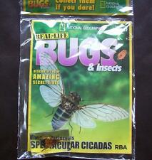Real Life Bugs & Insects Mag Part Work Issue 1 Manchurian Scorpion National Geog
