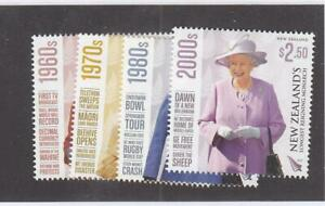 NEW ZEALAND (MK7315) # 3023 VF-MNH 2015 QEII /4 LONGEST REIGNING MONARCH STAMPS