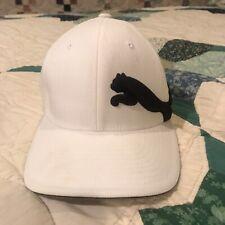 Vintage Puma FlexFit Hat Ball Cap - Black Cat - Tag Size: S/M