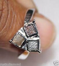 1.04CT NATURAL CONGO CUBE ROUGH DIAMOND RING RAW DIAMOND RUSTIC DIAMOND RING nr