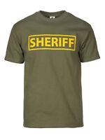 Sheriff Olive Law Enforcement T-Shirt