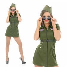 AVIATOR Da Donna Ragazza Costume Costume Completo da Pilota Esercito Da Donna L