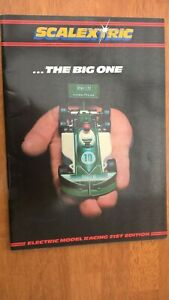 Scalextric 1980 Catalogue 21st Edition V/Good Clean Condition Super Formula Cars