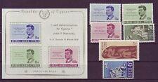 Briefmarken aus Zypern mit Geschichts-Motiv