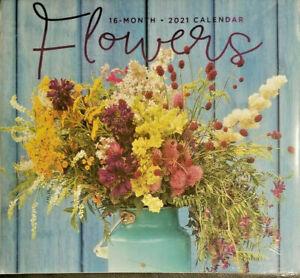 Flowers 2021 Wall Calendar w