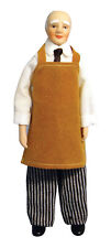 DOLLS HOUSE DOLL 1/12th SCALE OLD STYLE SHOP KEEPER