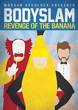 BODYSLAM REVENGE OF THE BANANA MORGAN SPURLOCK NEW SEALED WS + TRACKING!!