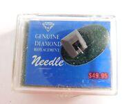 Vtg NOS Genuine Diamond Replacement Phonograph Needle Sansui SN-505