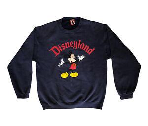 Vintage Mickey Mouse Disneyland Crewneck Sweatshirt Size Small Made in USA