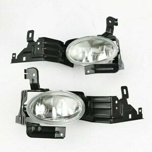 Pair fog lights Driving Lamp Front Bumper LH and RH For HONDA ACCORD 2011-2012