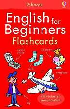 English for Beginners (Usborne Language for Beginners Flashcards) by Christyan F