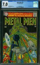 Metal Men #25 CGC 7.0 -- 1967 -- Andru. Esposito. Chemo app #0360123021
