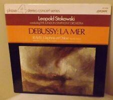 "Leopold Stokowski conducts London S.O. ""Debussy: La Mer"" London SPC21059 LP EX"