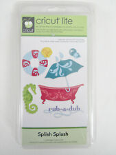New Cricut Lite Splish Splash Complete 50 Themed Images Cartridge Keypad 2000174