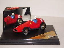 FERRARI 625 #10 G. FARINA ARGENTINA GP 1955 QUARTZO WITH DRIVER QFC99014 1:43