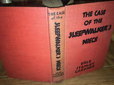 The Case of The Sleepwalkers Niece By Erle Standle Gardener-1943 HC TRIANGLE
