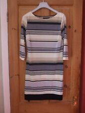 Stunning Fitted Summer Dress - Size 10