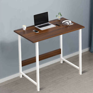 Small Home Office Wooden Computer Table Laptop PC Writing Desk Study Workstation