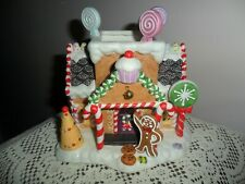 New ListingPartyLite The Gingerbread Cottage P7901 Tealight Gingerbread House