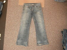 "Moto Bootcut Jeans Waist 30"" Leg 30"" Faded Dark Blue Ladies Jeans"