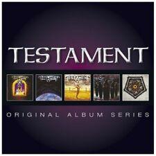 TESTAMENT - ORIGINAL ALBUM SERIES 5 CD NEUF