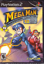 Mega Man Anniversary Collection [PlayStation 2 PS2, 10 Classic Titles Games] NEW