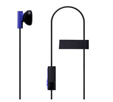 Official Sony Playstation 4 PS4 Mono Chat Earbud Earphone with Mic Headset K78