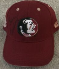 BOBBY BOWDEN FLORIDA STATE SEMINOLES AUTOGRAPHED SIGNED BRAND NEW HAT #2