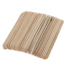 50pcs applicateurs en épilation en bois bâtons pour sourcils Spatule à