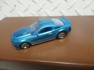 Loose Hot Wheels Blue '10 Ford Shelby GT500 Super Snake