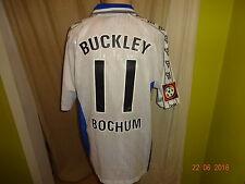 "Vfl bochum globe Trotter matchworn camiseta 2000/01 ""Faber"" + nº 11 Buckley talla L"