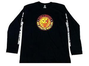 Official NJPW - New Japan Pro Wrestling - Lion Mark Long Sleeve - Colour