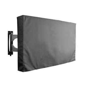 """TV Cover Fitted Waterproof Weatherproof Television Protector 30""""-65"""" Outdoor"""