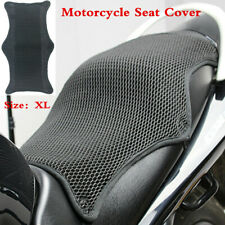 Waterproof Sunscreen Pad Motorcycle 3D Mesh Seat Cover Shock Absorber Cushion