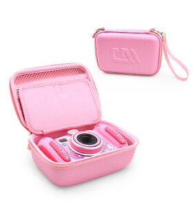 CM Pink Camera Case for VTech Kidizoom Camera PIX , DUO and More, Case Only