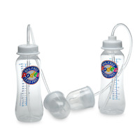 Podee Hands Free Baby Bottle Anti-Colic System ~ (Twin Pack 2)- 9oz  Bottles
