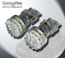 LED Rear Signal Light Bulbs 3157 24 Yellow Set of 2pc (two pcs) 3057 4057 3457A