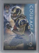 2015 Topps Valor Courage /50 Todd Gurley II #181 Rookie Auto