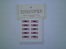 6mm Signifer Historical Flags  American Civil War Rebel  National Flag