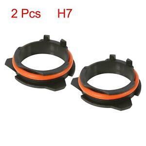 H7 LED Headlight Adapter Bulb Retainer Holder for BMW E39-2 5 7 Series 2pcs