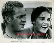 "Steve McQueen Ali MacGraw The Getaway 8x10"" Studio Copy Photo #M5383"