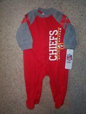 Kansas City KC Chiefs nfl INFANT BABY NEWBORN Jersey Pajamas 3-6M 3-6 Months