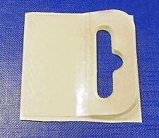 300 Sticky Adhesive Flexi Euro Hang Tab 50 x 50mm Booklet Solt,Hook Shop Display