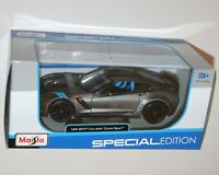 Maisto - 2017 CHEVROLET CORVETTE GRAND SPORT  (Grey) - Model Scale 1:24