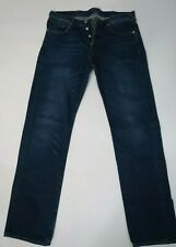 PAUL SMITH Mens Blue Jeans Sz 32 With Button-Fly In EUC
