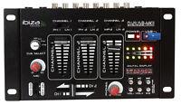 """4 CANALES MESA de mezclas """" dj21usb-mkii"""" IBIZA Estéreo Mezclador con USB / MP3"""