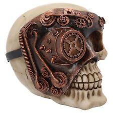 Monocle Man Steampunk Skull 11cm High Nemesis Now Steam Punk Gothic