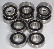 10-Pack Skate Bearings, 608rs/8mm Roller/Inline/Hockey/Rollerblade/Skateboard